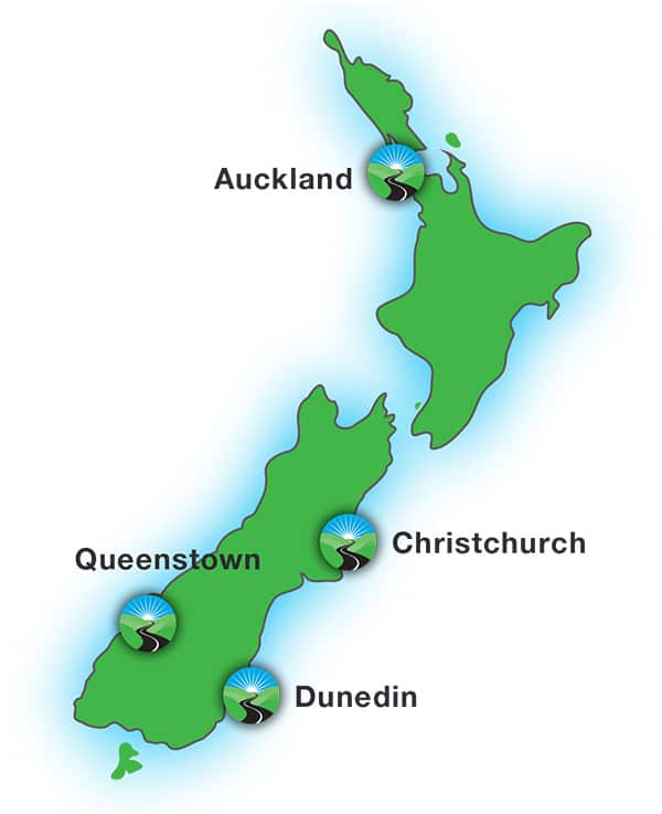 Freedom Mobility locations in New Zealand
