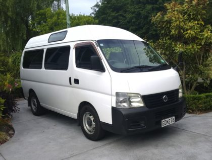 Nissan Van Exterior 420x318 - Nissan Caravan Wheelchair Accessible Vehicle - Seats 5