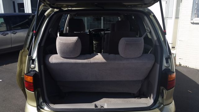 With far rear seats up