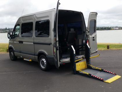 Renault Master swb high roof exterior 3 420x318 - Renault Master  SWB Wheelchair Accessible