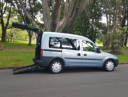 Vauxhall Combo Hero 1 420x318 - Vauxhall Combo Wheelchair Accessible Vehicle with Ramp