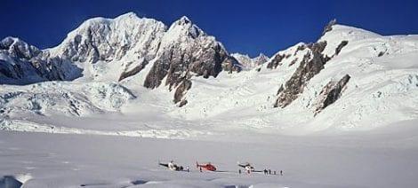 Heli pic 2 470x212 - Fox, Franz Josef, Mt Cook, Mt Tasman and the Tasman Glazier by Helicopter