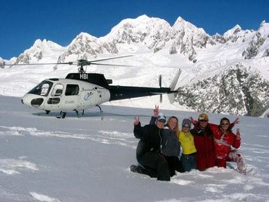 Heli pic1 - Fox, Franz Josef, Mt Cook, Mt Tasman and the Tasman Glazier by Helicopter