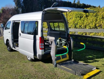 Toyota Hiace Exterior 3 420x318 - Toyota Hiace Wheelchair Accessible - Seats 7