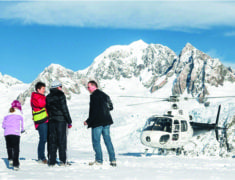 heli 235x180 - South Island Accessible Accommodations and Activities