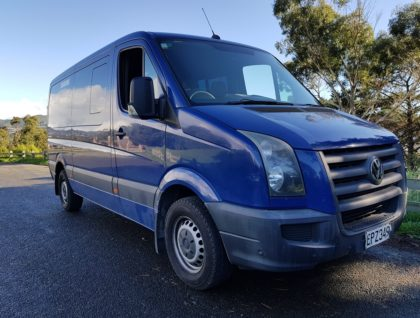hero 420x318 - Medium Wheelbase VW Crafter - Accessible vehicle, seating 8 plus 1 or 2 wheelchair passengers