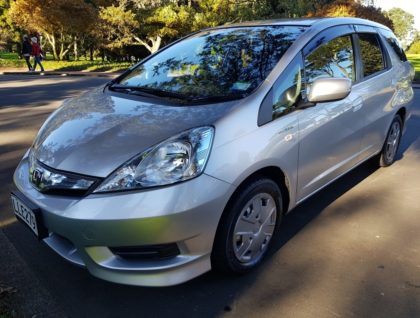 Honda Fit Shuttle Hybrid Station Wagon with Hand Controls and Left Foot Accelerator for Hire