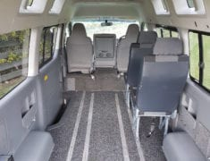 Wheelchair Accessible Toyota Hiace Van with loads of space