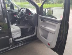 Hand control driver seat of Wheelchair Accessible Volkswagen Caddy