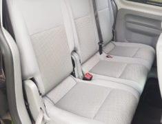 Interior seats of Wheelchair Accessible Volkswagen Caddy