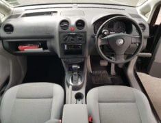 Dashboard of hand controled Volkswagen Caddy