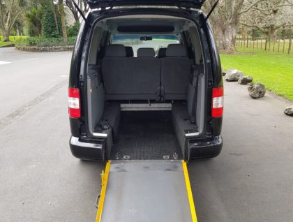 Wheelchair Accessible Volkswagen Caddy with Rear Ramp