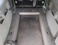 Wheelchair Accessible Interior of Volkswagen Caddy