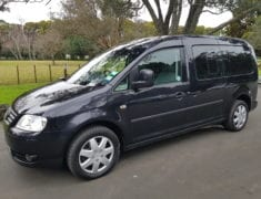 Wheelchair Accessible Volkswagen Caddy with hand controls
