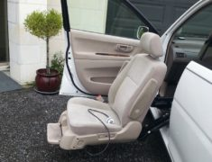 Toyota Gaia with Swing Out Seat, Rear Crane and Radial Hand Controls
