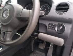 Volkswagon Caddy with Push Pull hand controls