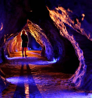 waitomo cave - Waitomo Ruakuri Cave