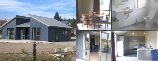 ccs holiday home - CCS Disability Action Holiday Home - Lake Tekapo