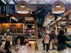 people shopping at riverside 240x180 - Riverside Markets