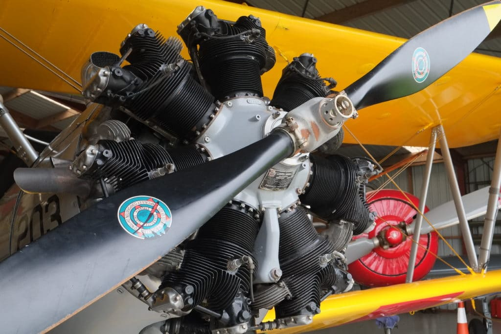 Exposed Engine 1 1024x683 - Classic Flyers Aviation Museum