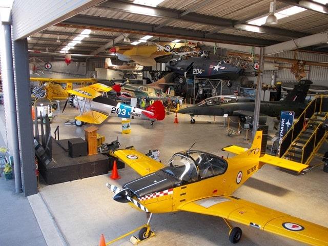 Main Hangar web 1 - Classic Flyers Aviation Museum