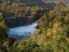huka falls waikato river bubbling gushing 240x180 - Huka Falls