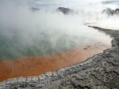 thermal water wai o tapu volcanic lake champagne pool 240x180 - Wai O Tapu Thermal Wonderland